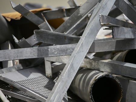 Light iron scrap metal